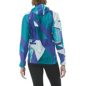asics fuzeX Packable Jacket Women shatter arctic aqua